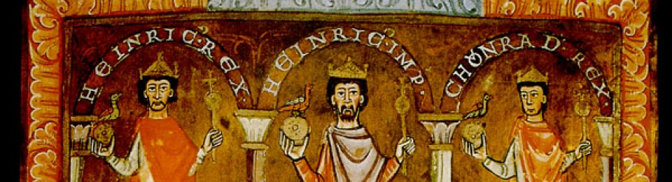 Gentes ultra Rhenum – Medieval Imperial German Studies
